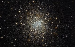 Palomar 2 Globular Cluster space wallpaper