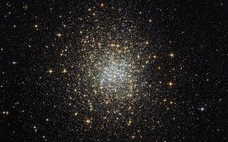 Palomar 2 Globular Cluster space wallpaper