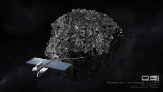 Deep Space Industries' Harvestor Spacecraft