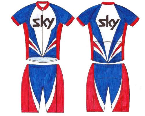 Martin Street Sky jersey