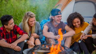 Camping with teenagers