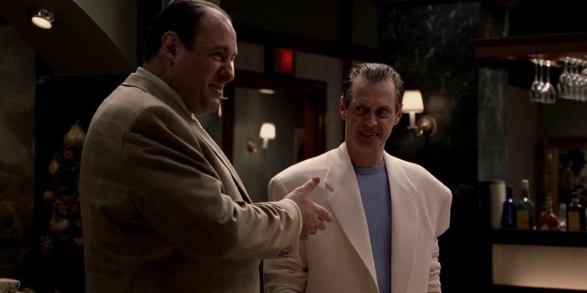 James Gandolfini, Steve Buscemi - The Sopranos