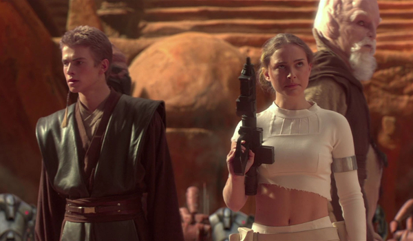 padme looking sexy in star wars