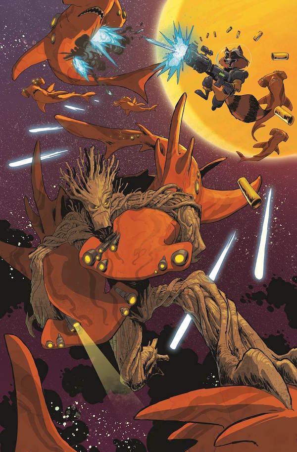 Groot's Latest Adventure Will Separate Him From Rocket Raccoon #32790