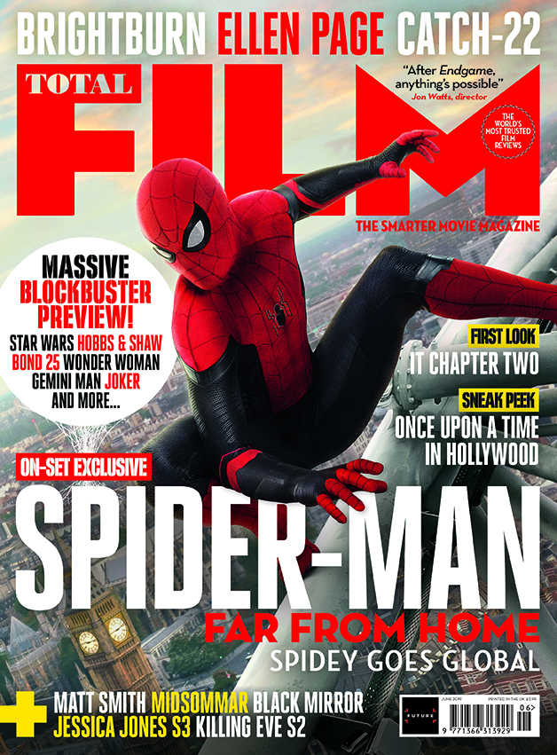 SPIDER-MAN: FAR FROM HOME Swings On To The Cover Of This
