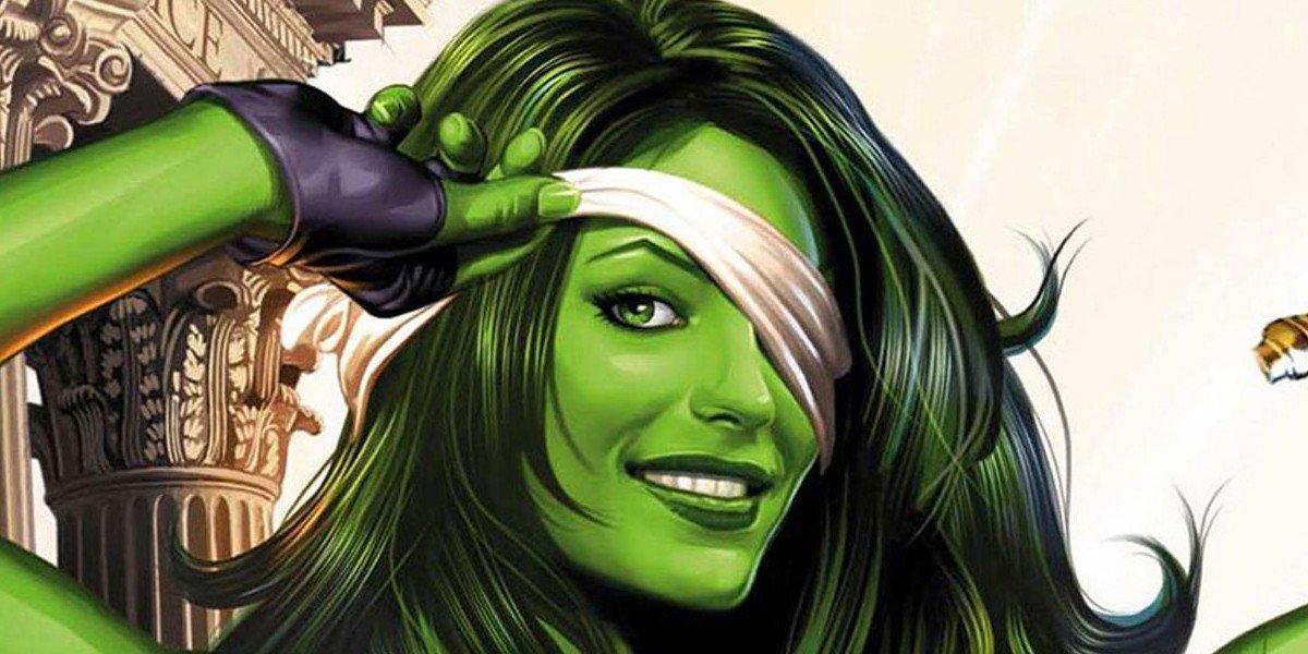 She-Hulk from Marvel Comics