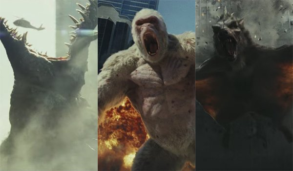 Rampage What You Need To Know About The Games Before The Movie Cinemablend