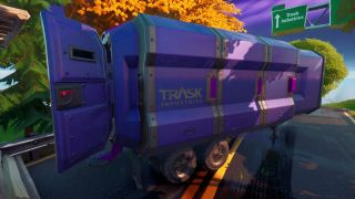 Fortnite Trask Transport Truck location