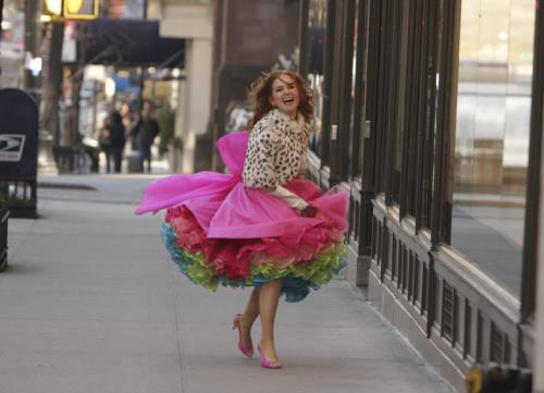 Confessions of a Shopaholic - Isla Fisher plays shopping-addicted New Yorker Rebecca Bloomwood