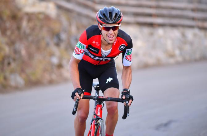 Richie Porte (BMC) riding to the win