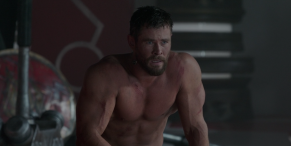 Marvel's Chris Hemsworth Shares Video Getting Ripped For Thor: Love And Thunder