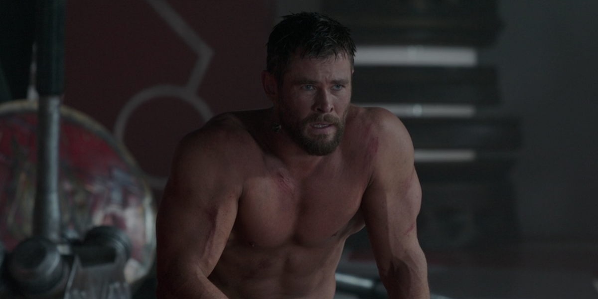 Marvel's Chris Hemsworth Shares Video Getting Ripped For Thor: Love And  Thunder - CINEMABLEND