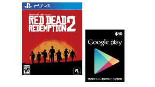 Get Red Dead Redemption 2 on PS4 and a free $10 Google Play