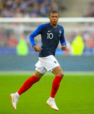 Kylian Mbappe is a target for Real Madrid