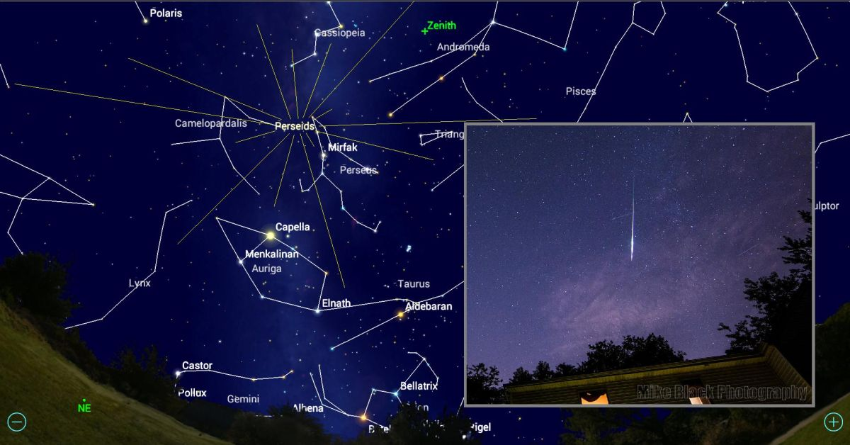 Making the Most of the 2018 Perseid Meteor Shower Using Mobile Apps