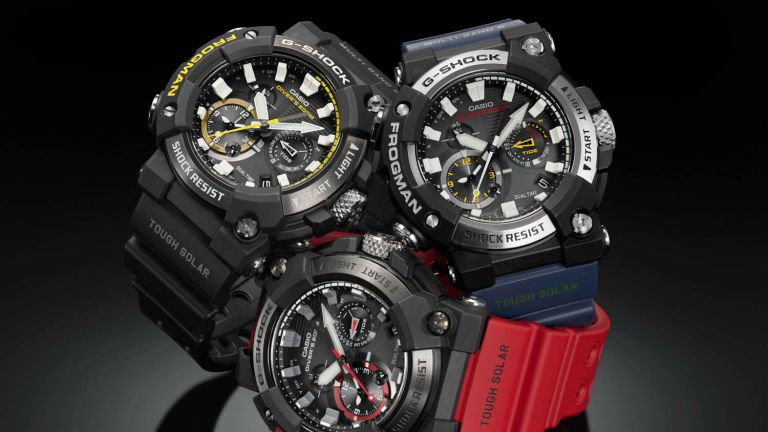 The updated Casio G-Shock Frogman is your newest diving companion