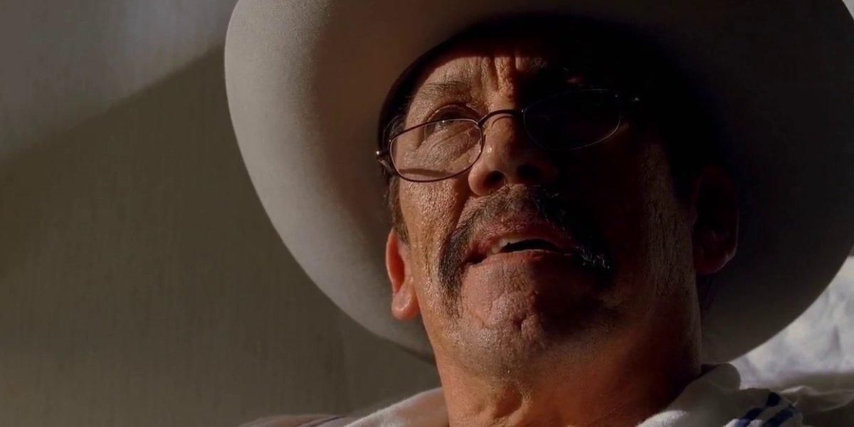Danny Trejo as Tortuga in Breaking Bad