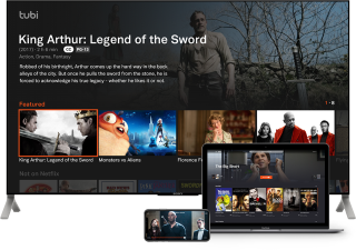 Tubi TV on various devices