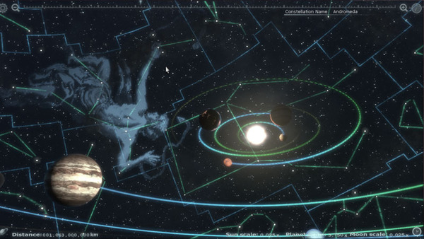 Explore The Solar System With Unreal Engine App #21707