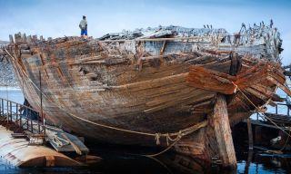 Amundsen's Ship