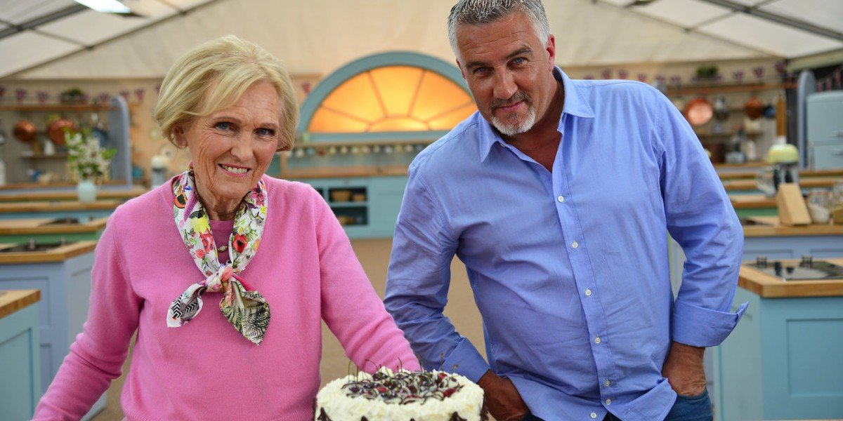 Mary Berry and Paul Hollywood in The Great British Baking Show: Masterclass