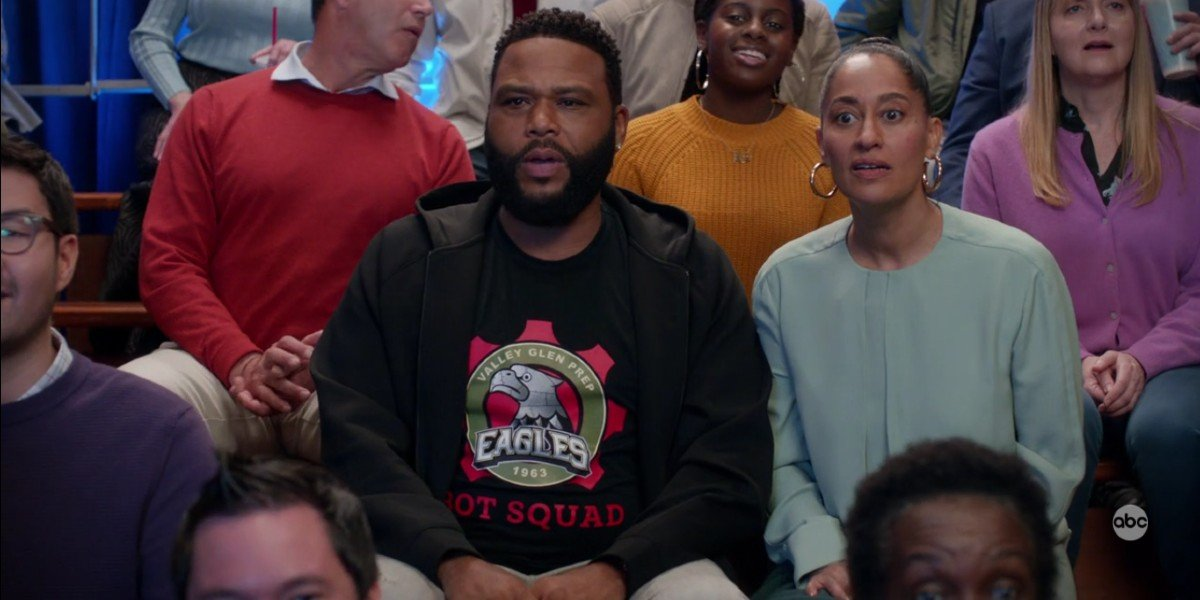 Tracee Ellis Ross and Anthony Anderson in Black-ish abc