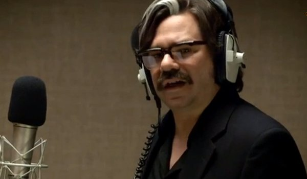 Toast of London Matt Berry as Steven Toast in the recording booth