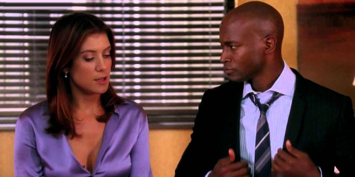 Kate Walsh and Taye Diggs on Private Practice