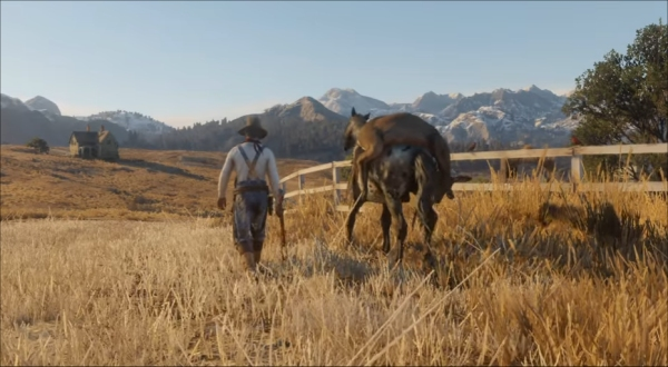 Red Dead Redemption 2 - Hunting