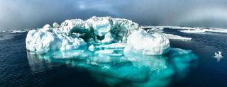 icebergs, acoustics, technology