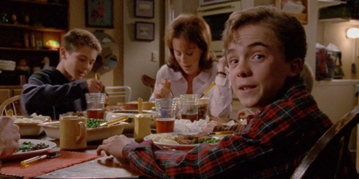 Frankie Muniz, Jane Krakowski, and Justin Berfield in Malcolm In The Middle