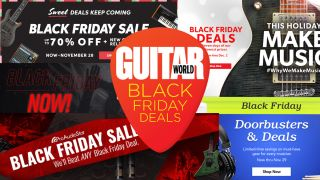 Save up to 70% off guitar gear with these mega Black Friday sales and coupon codes