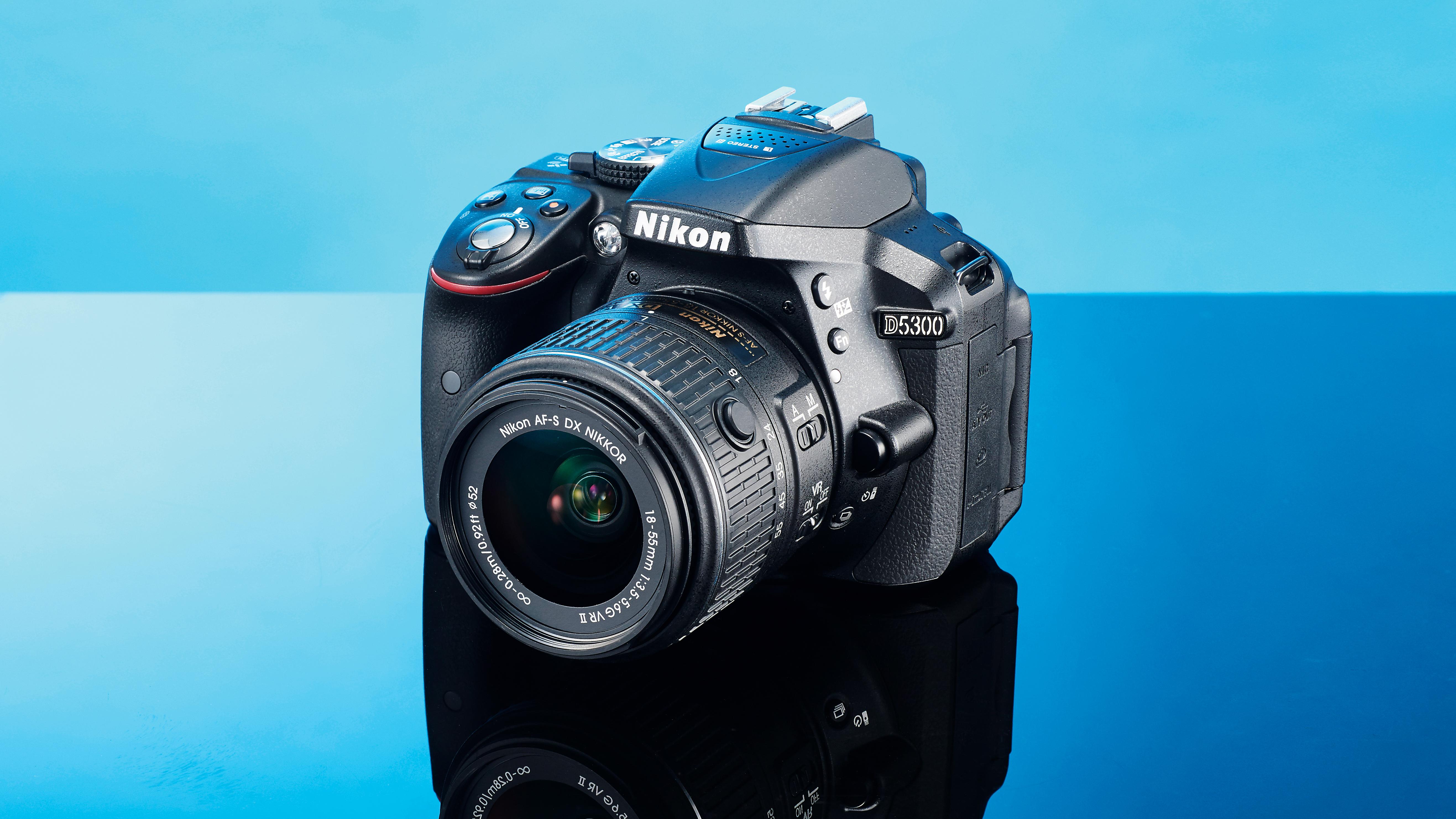 Nikon D5300 Techradar Kit 18 55mm Vr Af P