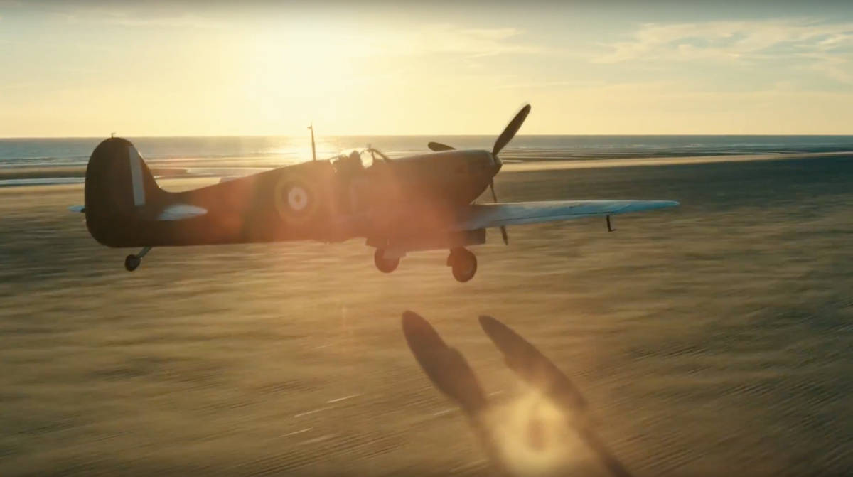 Could you land a Spitfire on a beach like in Dunkirk? The movie's stunt pilot explains