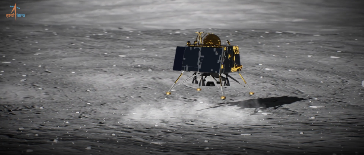 India's Silent Moon Lander Could Be in One Piece After 'Hard Landing': Reports