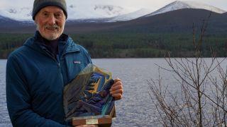 Dave Morris with Scottish Mountain award