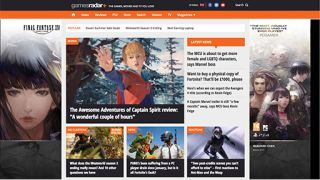 GamesRadar+ Desktop Homepage
