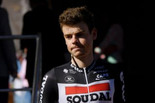 BEDA SPAIN FEBRUARY 21 Start Harm Vanhoucke of Belgium and Team Lotto Soudal during the 66th Vuelta a Andaluca Ruta del Sol 2020 Stage 3 a 1769km stage from Jan to beda 727m VCANDALUCIA UCIProSeries on February 21 2020 in beda Spain Photo by David RamosGetty Images