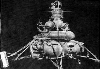 NASA Lunar Orbiter Spots Old Soviet Moon Landers