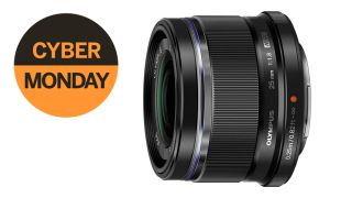 Olympus M.Zuiko 25mm f/1.8 lens slashed by £150 for Cyber Monday