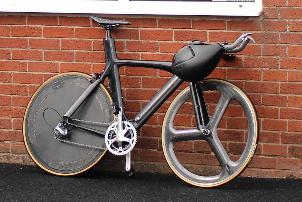 94f3bbf5b2b Richard Bussell's 10-mile time trial championship winning bike (Photo:  James Gadd)