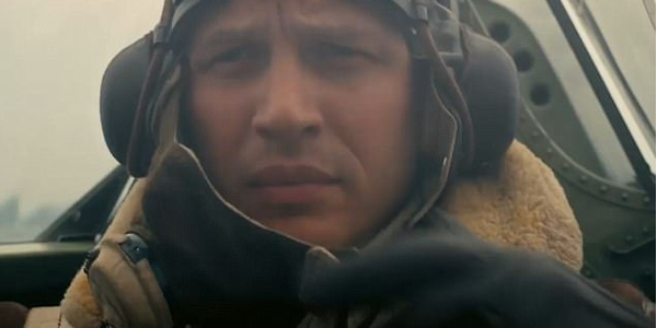 Dunkirk Tom Hardy cockpit scene