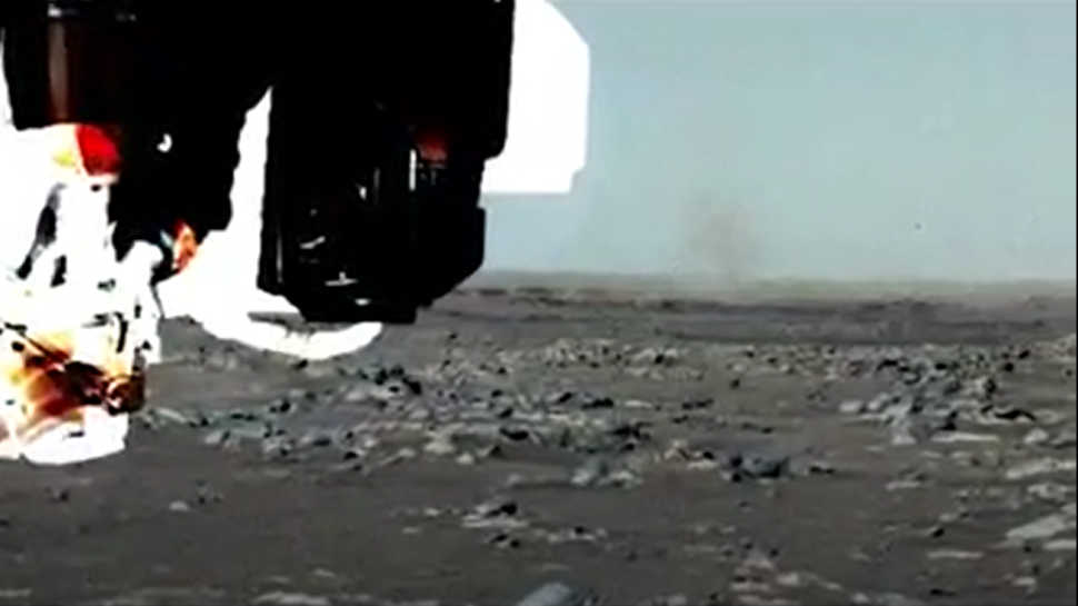 Perseverance rover spots its first dust devil on Mars