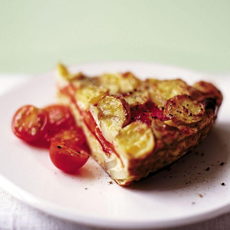 Roasted Pepper Tortilla Recipe-pepper recipes-recipe ideas-new recipes-woman and home