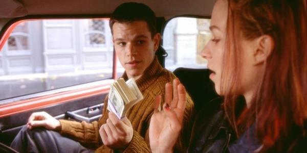 Matt Damon as Jason Bourne in the Bourne Identity