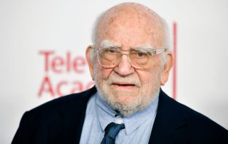 Ed Asner attends the Television Academy's 25th Hall Of Fame Induction Ceremony at Saban Media Center on January 28, 2020 in North Hollywood, California.