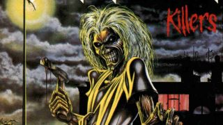 Iron Maiden: Killers album cover