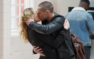 EastEnders Keanu Taylor and Louise Mitchell