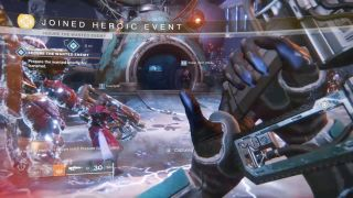 Destiny 2 Forsaken Tangled Shore Heroic Public Event