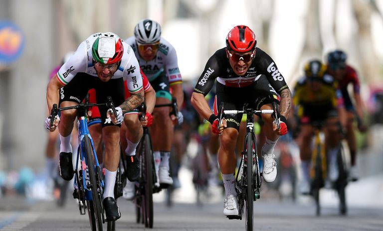 Caleb Ewan wins stage five of the Giro d'Italia 2021